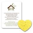 Heart#3 Mini Gift Pack With Seed Paper