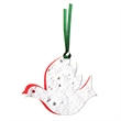 Ribbon Two-Part Ornament