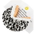 Giant Oreo Cookies and Cream Fortune Cookie - Giant Oreo Cookies and Cream Fortune Cookie with your own personalized fortune!