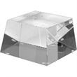 Optically Perfect Square Base - Optically perfect square glass base, blank.