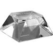 Optically Perfect Double Beveled Base - Double beveled award base made of optically perfect glass.