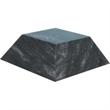 """Large Black Marble Pyramid Base - Large sized (2.5"""" x 6.25"""" x 6.25"""") pyramid shaped award base made of black marble."""