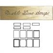 """Beveled 1235 Plate - Beveled plate, 3/4"""" x 3"""" engraving surface, blank."""