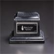 Small Classic Black Marble Base - Classic small black marble base, blank.