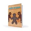 Gingerbread Design Eco Friendly Premium Ornament Card