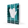 Eco Friendly Premium Ornament Card With Mitten Design