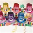 New Year's Metallic Party Kit for 10 - New Year's metallic party kit for 10, blank