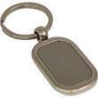 Key Ring - Tarnish proof satinized silver key ring.