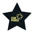 Star Shaped Recycled Tire Coaster - Recycled tire star shaped coaster, 3 mil thick.