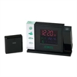 Crystal Weather Station With Projection Clock - Crystal weather station with projection clock.