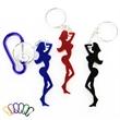 Fine figure of a woman shape bottle opener keychain