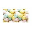 Pastel Buttermints Soft Candy - Pastel butter mints soft candy in a stock design wrapper.