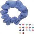 Hair Scrunchies - Polyester cool mesh moisture management fabric hair scrunchies.