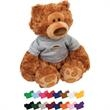 "Pauly Plush Teddy Bear - Stuffed bear, 13.5"" - sitting size 9.5"""