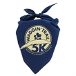 "Domestic Pet Bandana - Domestic pet bandana made from 50/50 polyester-cotton; features a triangular shape measuring 22"" x 22"" x 29"""
