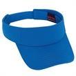 Cool Comfort Polyester Cool Mesh Sun Visor - 100% polyester performance material and cool comfort mesh sun visor.