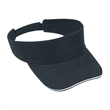 Brushed Bull Denim Sandwich Visor Sun Visor - Brushed 100% cotton bull denim sun visor with sandwich visor and an adjustable hook and loop closure.