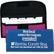 Nylon Coupon Pack with 15 dividers - Coupon pack with dividers, 70 denier upgrade nylon with PVC waterproof backing.