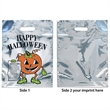 Silver Reflective Pumpkin Bag - Plastic Bag