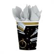 Black Tie New Years Party 9 oz Cups - 9 oz New Years cups, 36 in a pack, blank