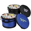 Expandable cooler tub - Expandable cooler tub made of 600 denier polyester.