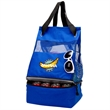 2-Way Cooler Tote/Backpack - Cooler Tote/Backpack made of 600 Denier Polyester and Mesh.