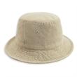 Garment Washed Cotton Twill Bucket Hat - Garment washed 100% cotton twill bucket hat.