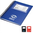Card Holder Notebook - Business card holder notepad.