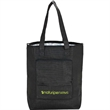 """Barbuda Folding Cooler Tote - 5.5"""" x 15.75"""" x 17"""" folding cooler tote; includes 24"""" handles and folds down to a 9"""" x 4 5/8"""" carrying size."""