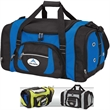 """Sports Duffel Bag - Sports duffel bag; includes bottom stiffener and 1 1/2"""" x 42"""" removable and adjustable shoulder strap with pad."""