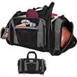 """Charleston Sports Duffel Bag - Sports duffel bag; includes carrying handles and 1 1/2"""" x 47"""" removable/adjustable shoulder strap."""