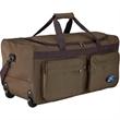 Rolling travel duffel bag