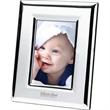 """Heureu 4"""" x 6"""" Photo Frame - Silver plated 4"""" x 6"""" photo frame."""