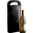 Wine Carrier - Double wine carrier with folding separator inside.