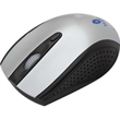 Prisca Wireless Mouse - Wireless mouse complete with a 2.4GHz frequency, 3-button function, scroll wheel, and USB receiver.
