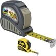 Economy Tape Measure - Economy tape measure with rubber grip, power lock and belt clip.