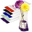 Bud Flexi-Vase (R) - Junior size shatterproof PVC vase, folds flat for easy storage.
