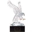 "Eagle Award with 4"" Lighted Pedestal"