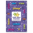 Educational message magnets - Educational message magnet with 12 magnetic reading/site words and square magnet.