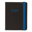 Banded Padfolio - Padfolio has strong band of colored elastic to keep papers secure.