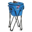 Cooler Ice 14 - Folding portable travel cooler with stand and speakers.