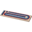"3 Track Cribbage Board - Cribbage board with three tracks size is 14 1/2"" x 3 1/2""."