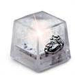 Light Up Ice Cube - White -Liquid Activated-Steady On- Mini - Light up ice cube - white - liquid activated - steady light - mini size.