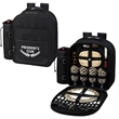 Picnic Backpack Cooler for Four - Lightweight fully equipped picnic backpack cooler for four.