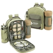 Picnic Backpack for Two with Blanket - Picnic backpack for two with fleece blanket.