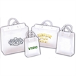 Frosted Eurotote - Eurotote made of high-density plastic with reinforced cardboard tops and bottoms.