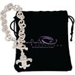 """Fleur de Lys Bracelet - Silver-plated 8"""" bracelet with Fleur de Lys charm and Egyptian-style toggle clasp."""