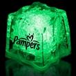"Green 1 3/8"" Premium Light-Up Glow Cube"