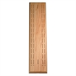 Competition Cribbage Set-Solid Oak Wood Sprint 2 Track Board - Solid wood, two track competition cribbage board, sprint styled layout.