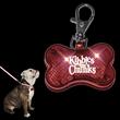 LED Dog Bone Pet Safety Light, Red
